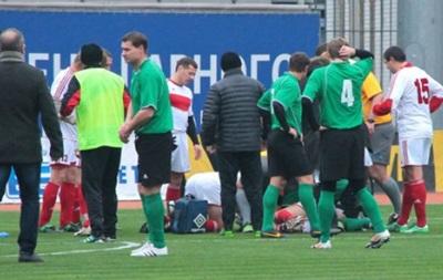 Футболист спас жизнь человеку во время матча в Запорожье