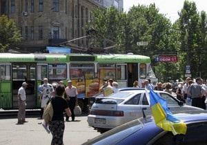 Виновник инцидента в днепропетровском трамвае просит прощения у всех жителей города