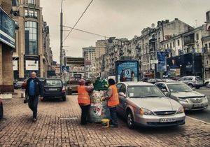 Исследование: Киевлянин за год выбрасывает 600 килограммов мусора