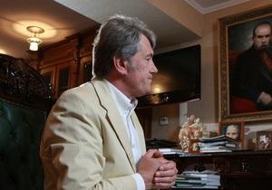 Ванникова отрицает информацию Генпрокуратуры: Ющенко находится за границей