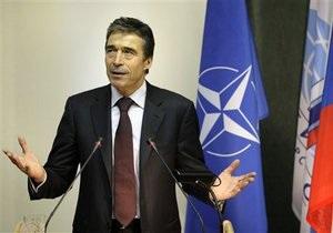 Расмуссен заявил, что НАТО никогда не нападет на Россию