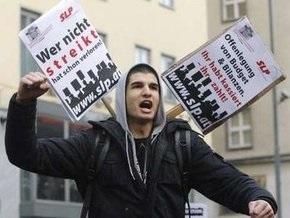 Во время демонстрации в австрийском Линце ранены более 20 человек