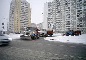 Попов: Снег для Киева не станет неожиданностью