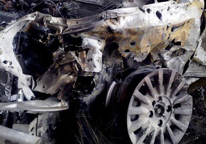 В Киеве горели три автомобиля