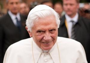 Отречение Папы Римского - Папа Римский в среду впервые появится на публике после объявления об отречении