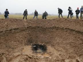 Полиция Латвии признала, что инсценировка падения метеорита не является преступлением