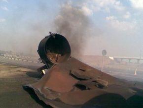 На трассе Харьков-Симферополь взорвалась автоцистерна с газом