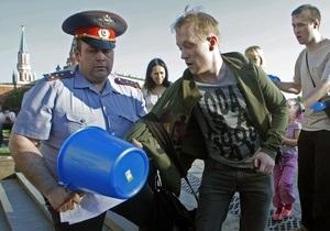 Сегодня в Москве пройдут акции Общества синих ведерок