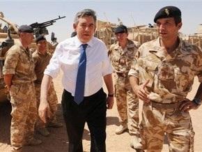 Гордон Браун объявил об отправке в Афганистан еще 500 британских военнослужащих
