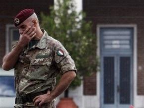 Италия пополнит контингент в Афганистане на тысячу военнослужащих
