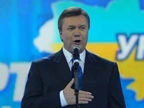 Янукович обещает перевести армию на контракт до 2011 года