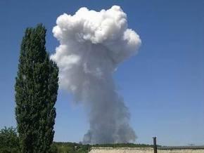 Пожар на складах под Донецком ликвидирован