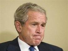 Рейтинг популярности Джорджа Буша упал до рекордно низкого уровня