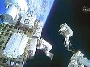 Астронавты Endeavour совершили второй выход в открытый космос