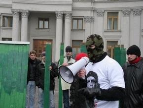 В центре Киева Беркут задержал около сорока борцов с рейдерством