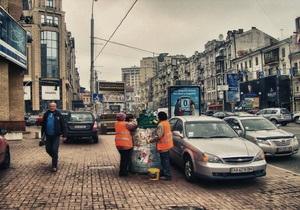 В Киеве появились два новых сквера
