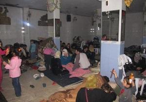 ООН: Количество сирийских беженцев превысило полмиллиона человек
