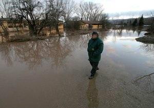 В Закарпатской области началось наводнение