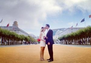 В США фотографы сделали свадебную фотосессию в Instagram