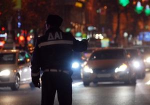 Загруженность киевских дорог осенью повысилась на 25%