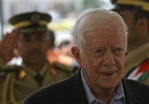 В Израиле совершена попытка покушения на Джимми Картера