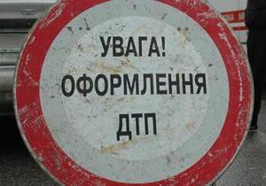 В Киеве сотрудник милиции сбил женщину на переходе