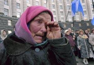 Безработица в Украине падает