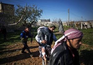 Сирийская армия атаковала лагерь палестинских беженцев