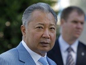ЦИК Кыргызстана официально объявила о победе Бакиева на президентских выборах