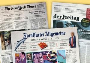 Названы газеты с лучшим в 2009 году дизайном