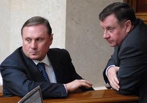 Партия регионов обвинила оппозицию в срыве выполнения Киевом международных обязательств