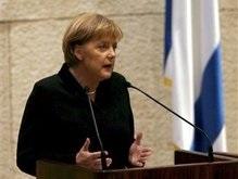 Канцлер Германии впервые выступила в кнессете