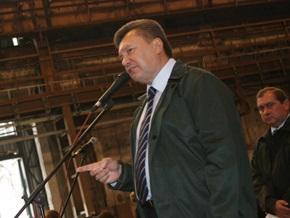 Янукович предложил повысить стоимость аренды ЧФ РФ в Крыму
