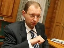 Яценюк: Шоу не будет
