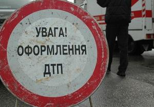 В Киеве женщина на Mazda сбила пенсионерку на пешеходном переходе
