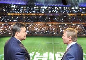 После инаугурации Янукович не поедет на футбол