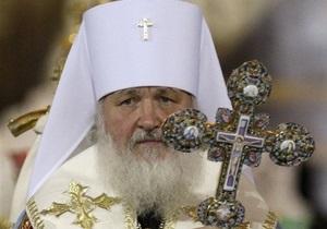 Патриарх Кирилл молится за успех украинского народа на выборах