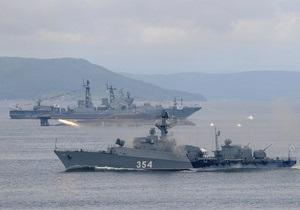 Корабли ЧФ РФ проводят учения в Черном море