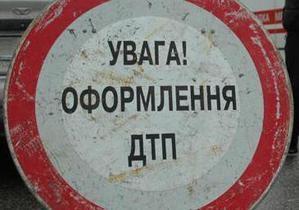 В Киеве на мосту Патона столкнулись шесть автомобилей