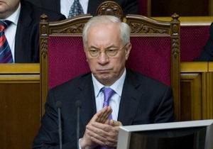 Рада рассмотрит кандидатуру Азарова на пост премьера только после избрания спикера