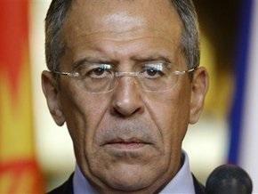 Лавров призвал ОБСЕ отреагировать на прекращение подачи газа в Южную Осетию