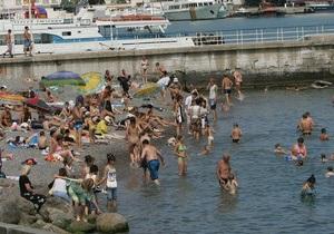 В Черном море зафиксирована аномально низкая температура воды