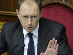 Яценюк  видит себя депутатом, который решил создать политическую партию