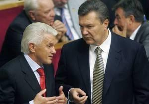 Оппозиция: Янукович вчера вызвал к себе в Межигорье Литвина, сейчас спикер на больничном