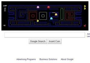 Посетители Google потратили 4,8 млн часов на логотип с игрой в Пакмэна