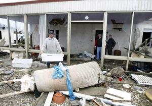 Ущерб от урагана Ксинтия составил 1 млрд евро