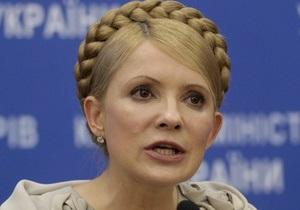 Тимошенко сомневается в поддержке осужденными Януковича