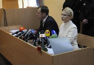 Суд продолжил слушания по делу Тимошенко. В зале присутствуют муж и дочь экс-премьера