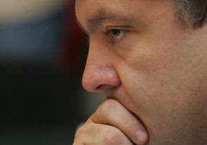 Порошенко: Отказ наблюдателям от Грузии негативно влияет на имидж Украины