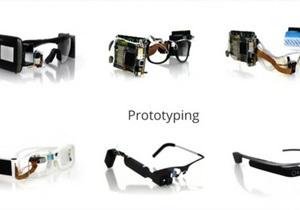 google glass - Google представила  прадедушку  своих очков